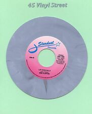 "ERIC CLAPTON 45 WONDERFUL TONIGHT / LAY DOWN SALLY STARDUST GRAY VINYL 7"" BEAUTY"