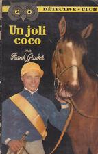 C1 Frank GRUBER - UN JOLI COCO Fletcher Cragg DETECTIVE CLUB 1954 CHEVAL COURSES
