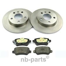 Discos de Freno 264mm Completo + Forros Traseros Opel Astra G H Combo Meriva