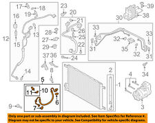 AUDI OEM A/C AC Condenser/Compressor/Line-Discharge Line 5Q0816721T