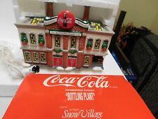 Department 56 Snow Village Coca-Cola Bottling Plant