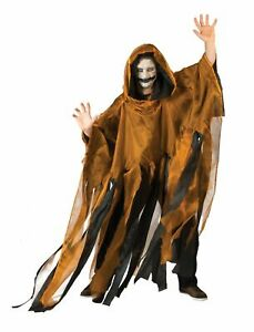 Cape Orange Adult Halloween Mantel