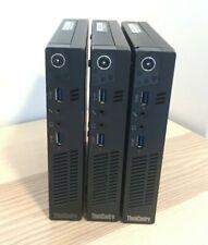 Lot of 3 Lenovo ThinkCentre M92p Tiny Desktop Computers i5 2.90GHz - No RAM/HD