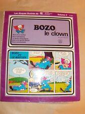 "BOZO LE CLOWN - VOLUME 2 - 25 cm 10"" MAXI 33T BD gatefold + comics - JPM 6001"