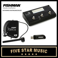FISHMAN TRIPLE PLAY MIDI USB WIRELESS GUITAR PICKUP & FC1 CONTROLLER TRIPLEPLAY