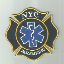NYC  PARAMEDIC  Patch     NEW YORK CITY  Maltese