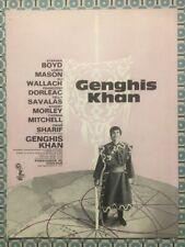 GENGHIS KHAN - Omar SHARIF Françoise DORLEAC Stephen BOYD James MASON - Synopsis