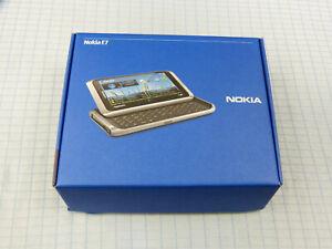 Nokia E7-00 16GB Silber! NEU & OVP! Ohne Simlock! Unbenutzt! Sehr selten! RAR!