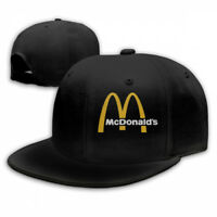 Traveleat Mcdonalds 90s Logo Adjustable Cap Snapback Baseball Hat