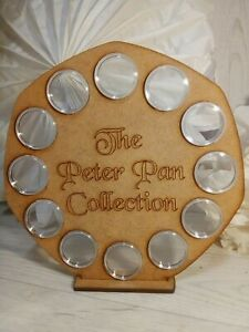 Peter Pan 2019 & 2020 Coin Storage Display Case Stand MDF capsules 50p