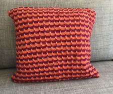Handmade hand-knitted cushion 36cm x 36 cm