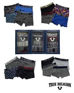 True Religion Mens Boxers 4 Pack Underwear Stretch Cotton Trunk Briefs All Sizes