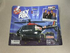 AS SEEN ON TV SKY FOX STORM CHASER TOY HELICOPTER BUMP AND GO..