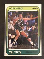1988-89 Fleer Basketball Kevin McHale Card #11 NM-MT Sharp Card HOF Celtics
