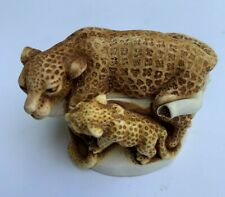 1997 Harmony Kingdom Sleepy Hollow Leopard Treasure Jest