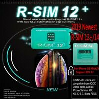 RSIM14 RSIM12+ Plus R-SIM Nano Unlock Card fits iPhone X/8/7/6/6s/4G iOS12.3 Lot