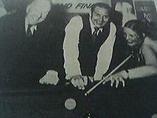 ephemera picture 1979 snooker vivienne graham leicester fred davis turnstile