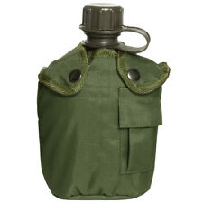 Army Style Military Canteen Water Bottle + Cover Hydration Alice System 1L Olive
