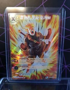 Dragon Ball Super CCG/ SS Trunks, Altering The Future BT13-093 SPR w/Top Loader