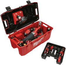 Milwaukee Tool Box Work Jobsite Power Tool Charger Holder Storage Lockable Case