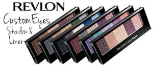 Revlon Custom Eyes Eye Shadow & Liner Choose Your Shade New