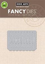 Hero Arts Papel Picado Love Fancy Die