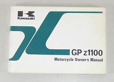 Betriebsanleitung / Manual Kawasaki GP z 1000 Stand 1984