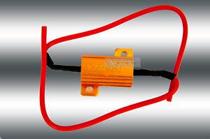 2 x Lastwiderstand / Resistor 25W10RJ 12 Volt Canbus 25 watt 10 Ohm