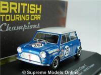 AUSTIN MINI COOPER S CAR MODEL 1:43 IXO ATLAS POOLE 1969 BTCC TOURING 4672111 T3