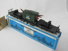 1978-87 MARKLIN HO  4617 LOW LOADING WAGON WITH TRANSFORMER NEW IN BOX !! !!