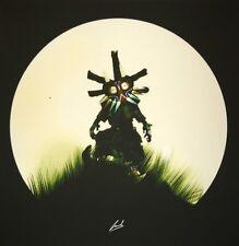 Luke Butland – The Masked One The Legend Of Zelda Majora's Mask Print Link Moss