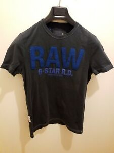 MENS T SHIRT G STAR RAW SIZE SMALL EXCELLENT CONDITION