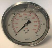 "Details about  /WGI Elite-400 Series WH10978P 3000 PSI 20000 kPa 4/"" Dial 1//2/"" NPT SST"