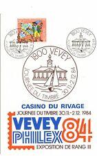 Swizerland Vevey postmark- Journee du timbre 1984