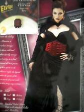 DELUXE VELVET VAMPIRESS VAMPIRE WOMAN COUNTESS HALLOWEEN COSTUME - ADULT LG