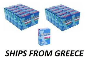 20 PACKETS RIZLA  6mm SLIM CIGARETTE ROLLING FILTER TIPS - 150 TIPS PER PACKET -
