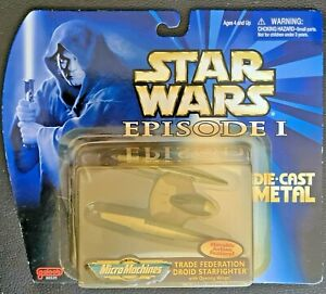STAR WARS Trade Federation Droid Star Fighter