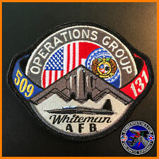509th & 131st Operations Group Patch B-2 Spirit T-38 Talon MOANG Whiteman AFB