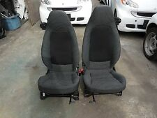 Smart Car Fortwo Passion Pure OEM Pair of Left & Right Seats Cloth & Mesh