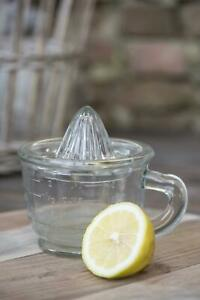 IB Laursen - Zitronenpresse mit Messbecher aus Glas Zitruspresse Saftpresse