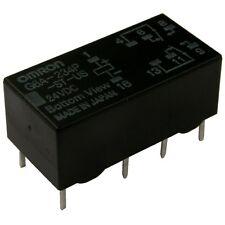 OMRON G6A-234P-ST-US-24 Relais 24V DC 2xUM 2A 2880R Low Signal Relay 854739