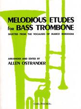 Bordogni Melodious Etudes for Bass Trombone Bassposaune