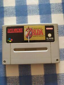 THE LEGEND OF ZELDA A LINK TO THE PAST Super Nintendo Snes PAL ESP ORIGINAL