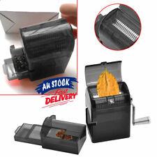 Black Grinder HerbHand Crank Muller Shredder Grinders Smoke Metal Herbal Tobacco