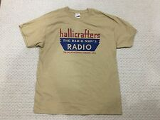 Hallicrafters Ham receiver radio logo shirt sign M, L, 2XL, 3XL