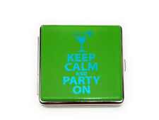 New listing Colorful & Fun Glam Double Sided Wallet or Cigarette Case for Kings
