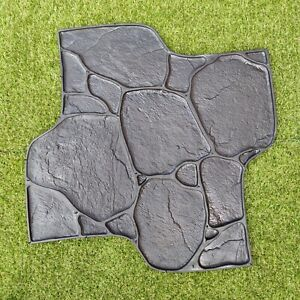 Concrete RUBBER Stamp *PEBBLES*. Mat for Printing on Cement imprint Sidewalk