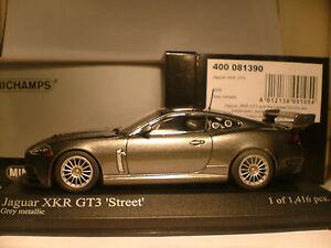 VERY RARE MINICHAMPS 1/43 2008 JAGUAR XKR GT3 STREET ONLY 1416 PCS WORLDWIDE NLA