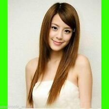 Women's Sexy Long Straight Fancy Dress Wigs Play Costume Ladies Full Wig Party