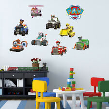 Paw Patrol Vehicle Kids Wall Stickers Vinyl Decal Art Nursery Baby Decor Gift
